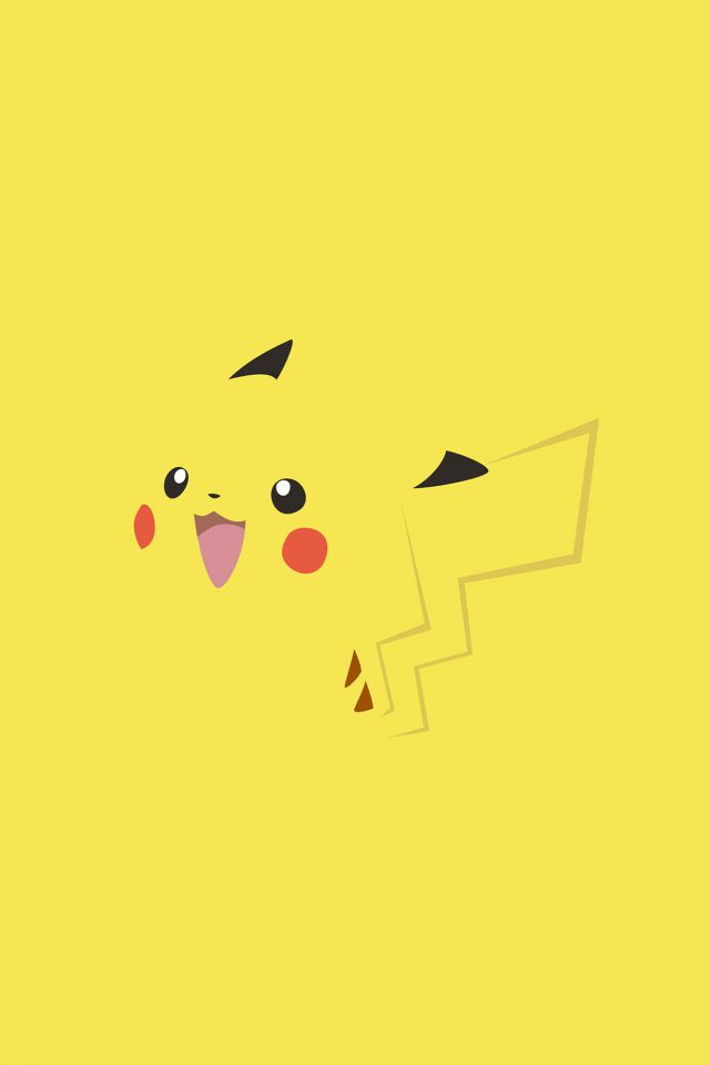 Wallpaper Pikachu Yellow Anime Android wallpaper