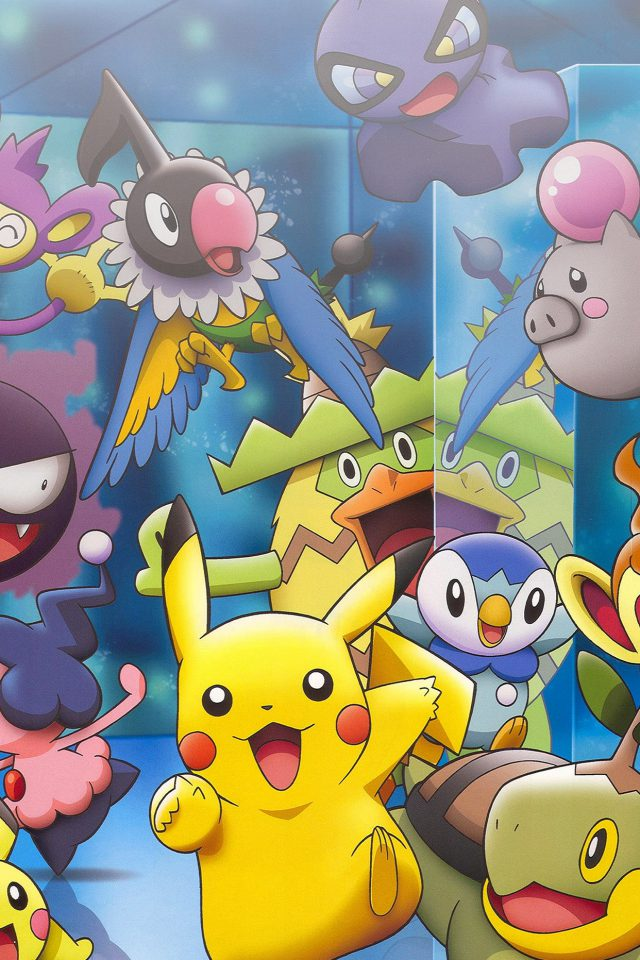 Wallpaper Pokemon Friends Anime Android wallpaper