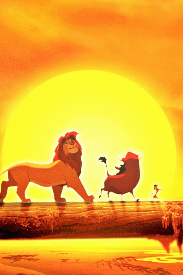 Walt Disney Lion King Anime Art Poster Android wallpaper