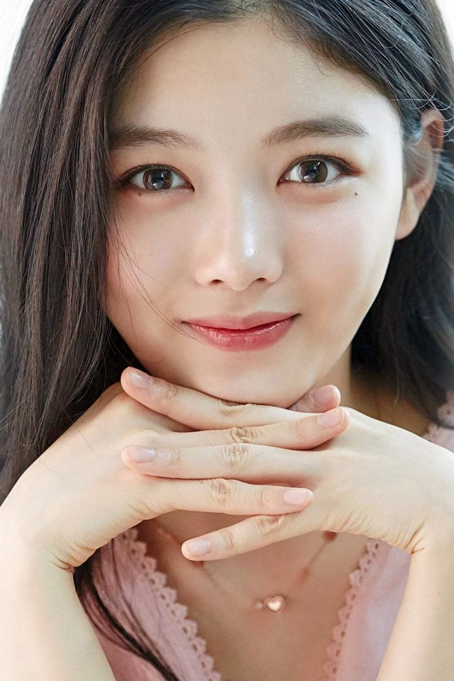 Yoojung Kim Kpop Girl Smile Android wallpaper