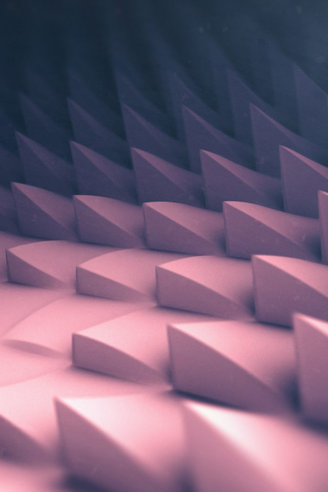 3d Art Pink Blue Digital Graphic Pattern Android wallpaper