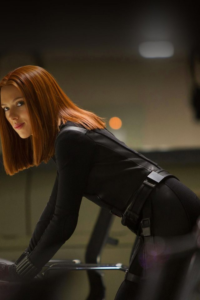 Ack Widow Scarlett Johansson Face Film Android wallpaper