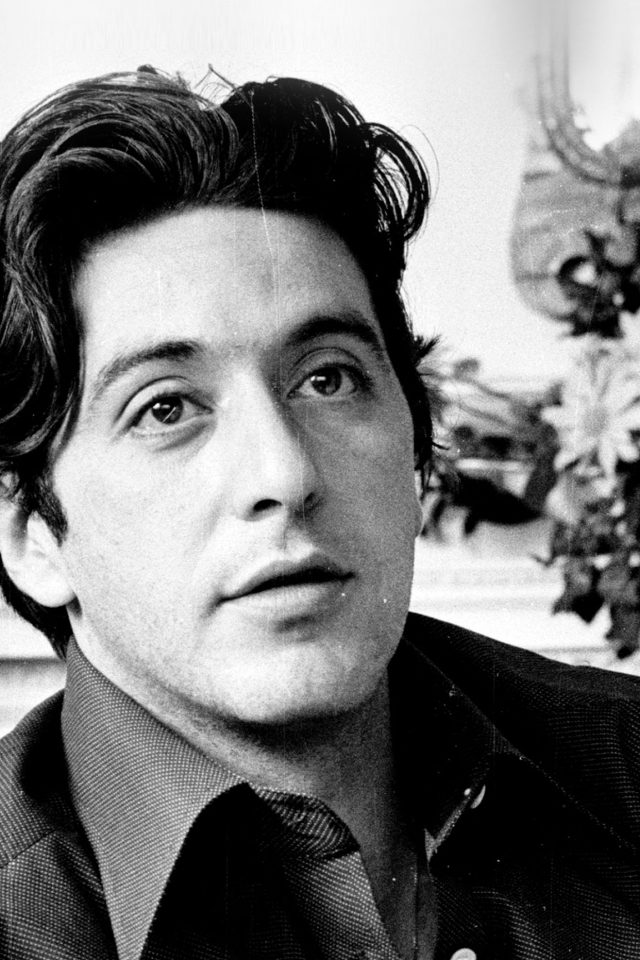 Al Pacino Young Boy Face Film Art Android wallpaper