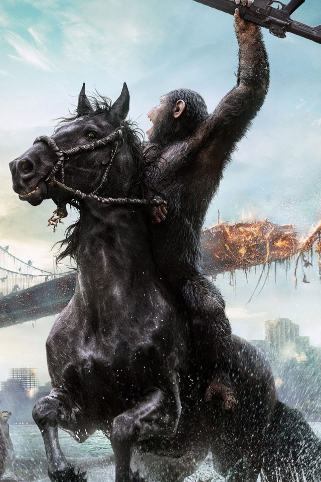 Anet Of Apes Film Illust Android wallpaper