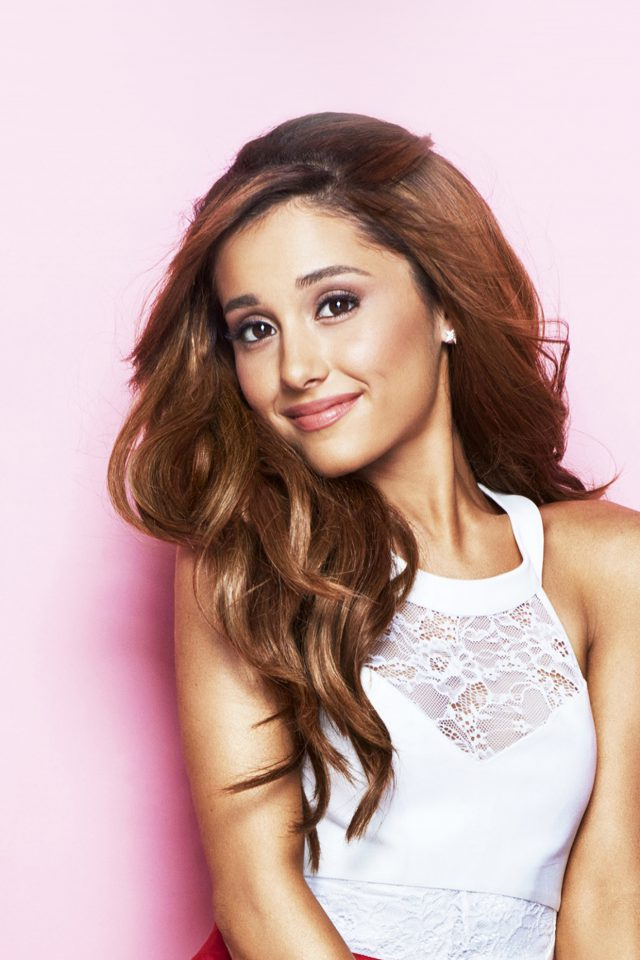 Ariana Grande Singer Music Girl Pink Android wallpaper