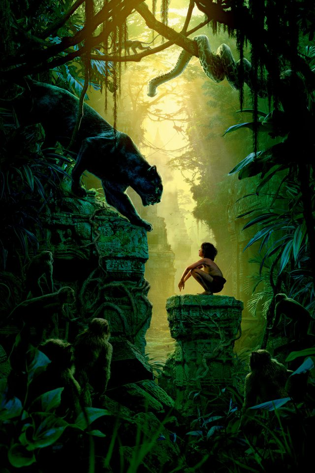 Art Film Nature Junglebook Animal Android wallpaper