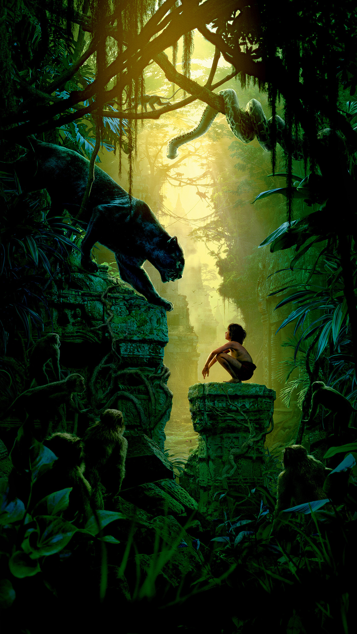 art film nature junglebook animal android wallpaper - android hd