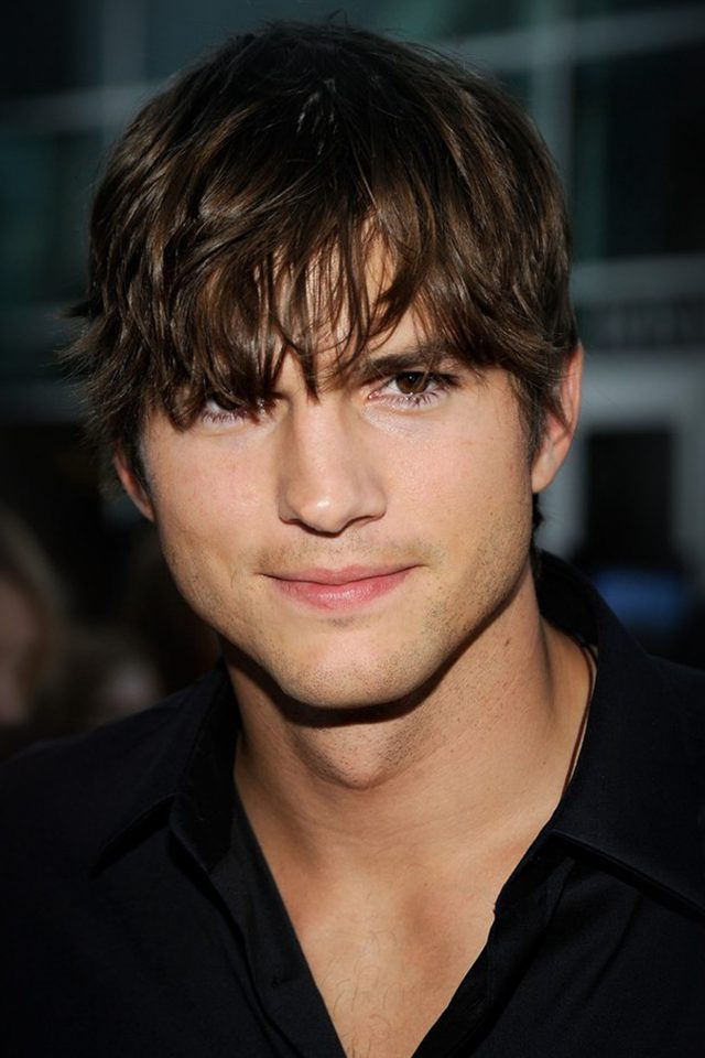 Ashton Kutcher Handsome Hollywood Actor Film Celebrity Android wallpaper