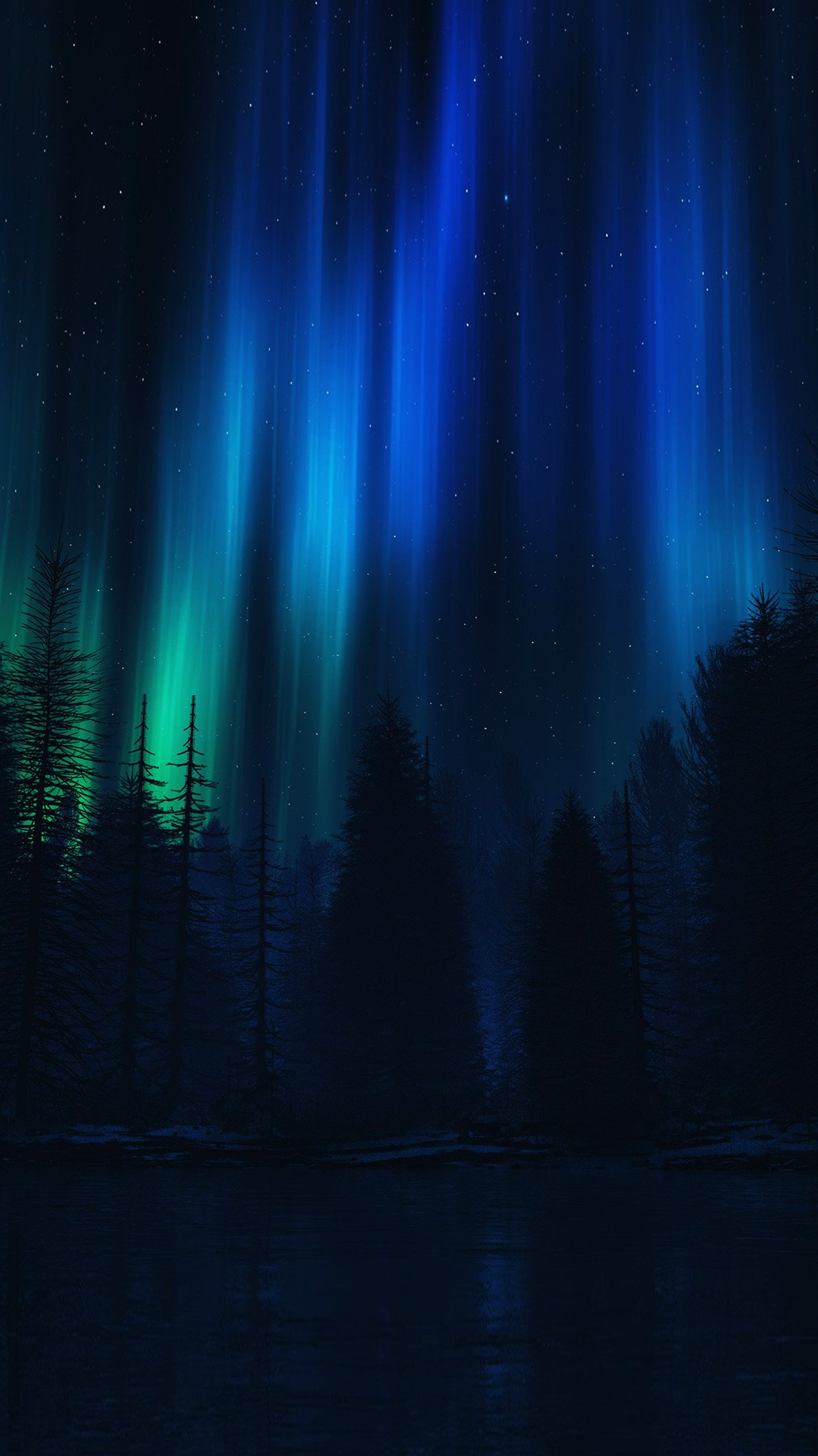 Most Inspiring Wallpaper Night Blue - Aurora-Night-Sky-Dark-Blue-Nature-Art  Snapshot.jpg