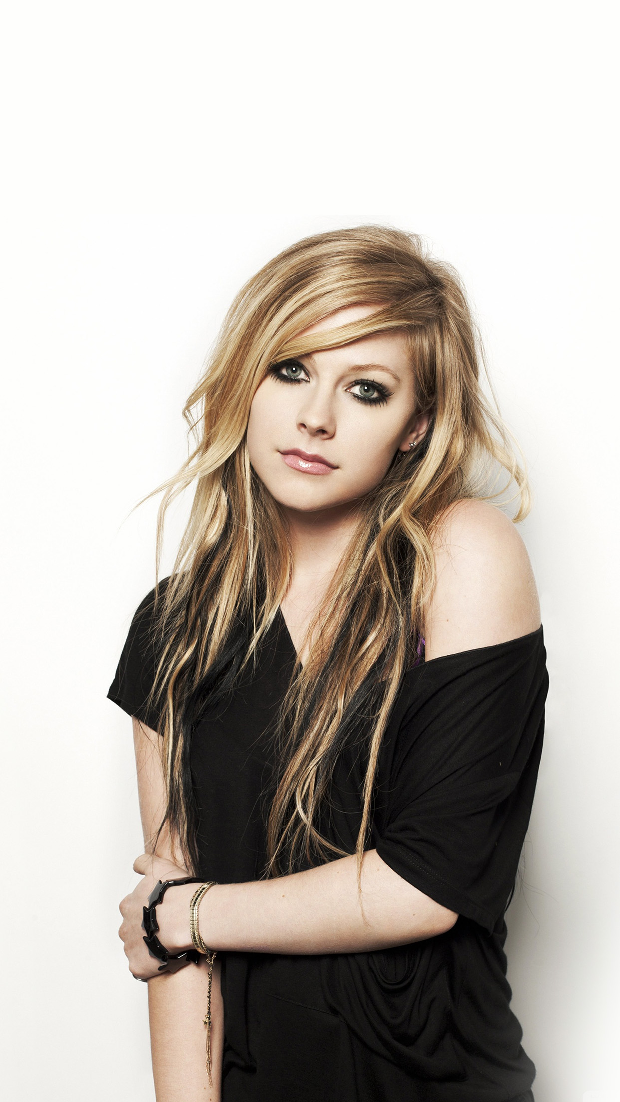 Avril Lavigne Music Star Beauty Android wallpaper