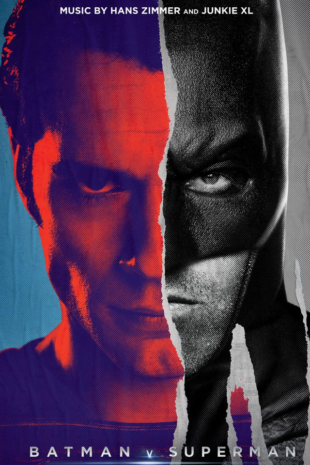 Batman Vs Superman Poster Art Film Comics Android wallpaper