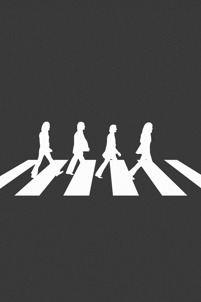 Beatles Abbey Road Music Art Android wallpaper