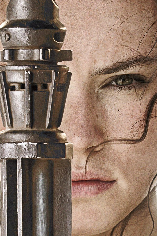 Beauty Starwars Poster Art Face Film Android wallpaper