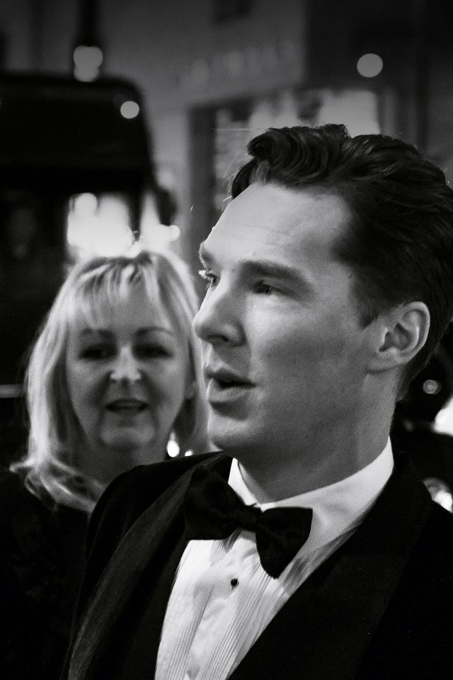 Benedict Cumberbatch Film Face Android wallpaper