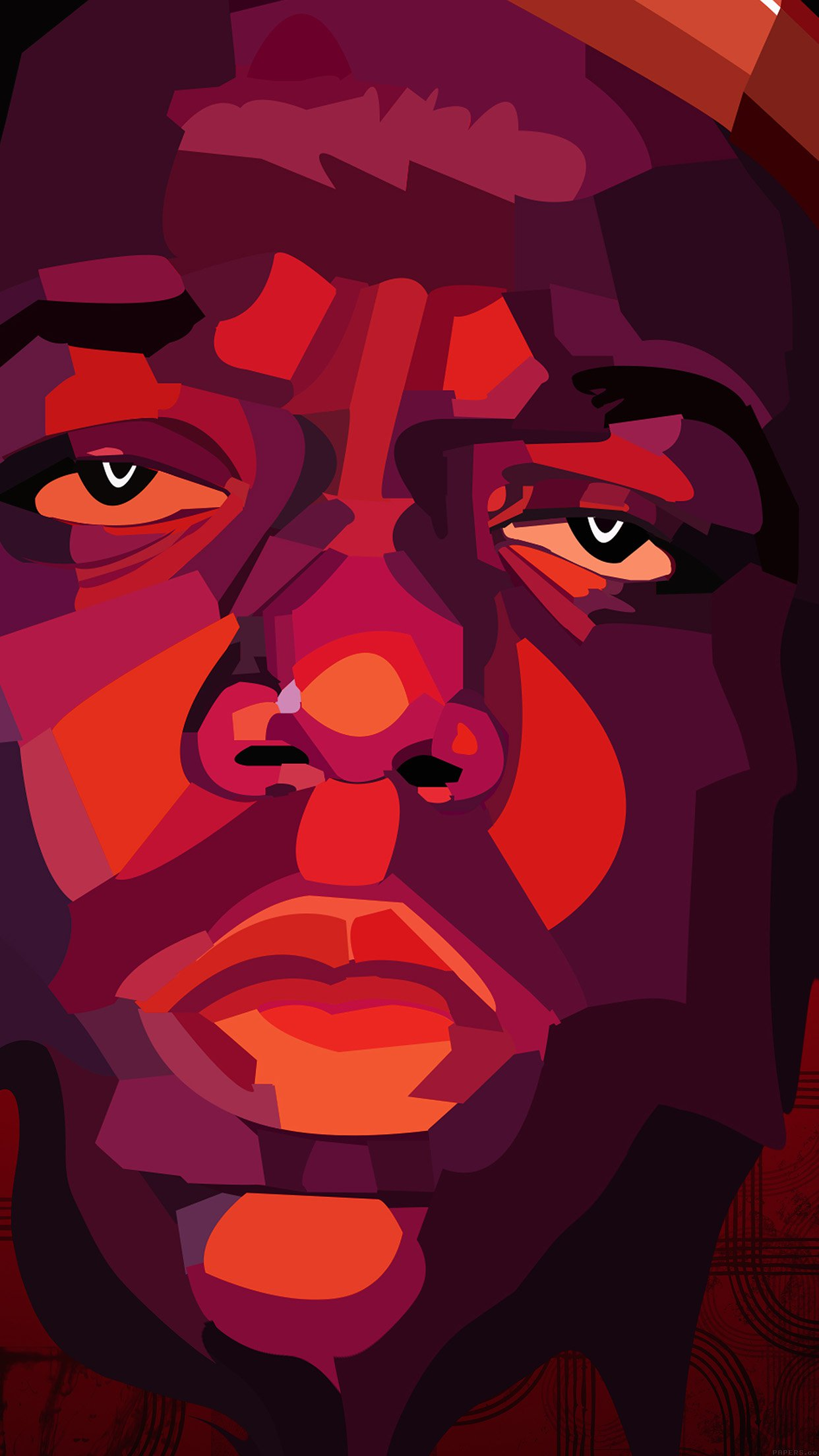 Biggie Smalls Notorious Big Rapper Music Android wallpaper