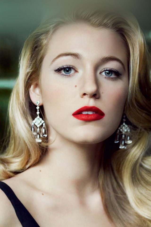 Blake Lively Face Film Beauty Android wallpaper