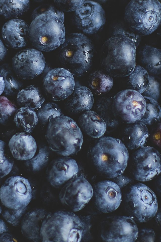Blue Berry Healthy Fruit Eat Food Nature Android wallpaper