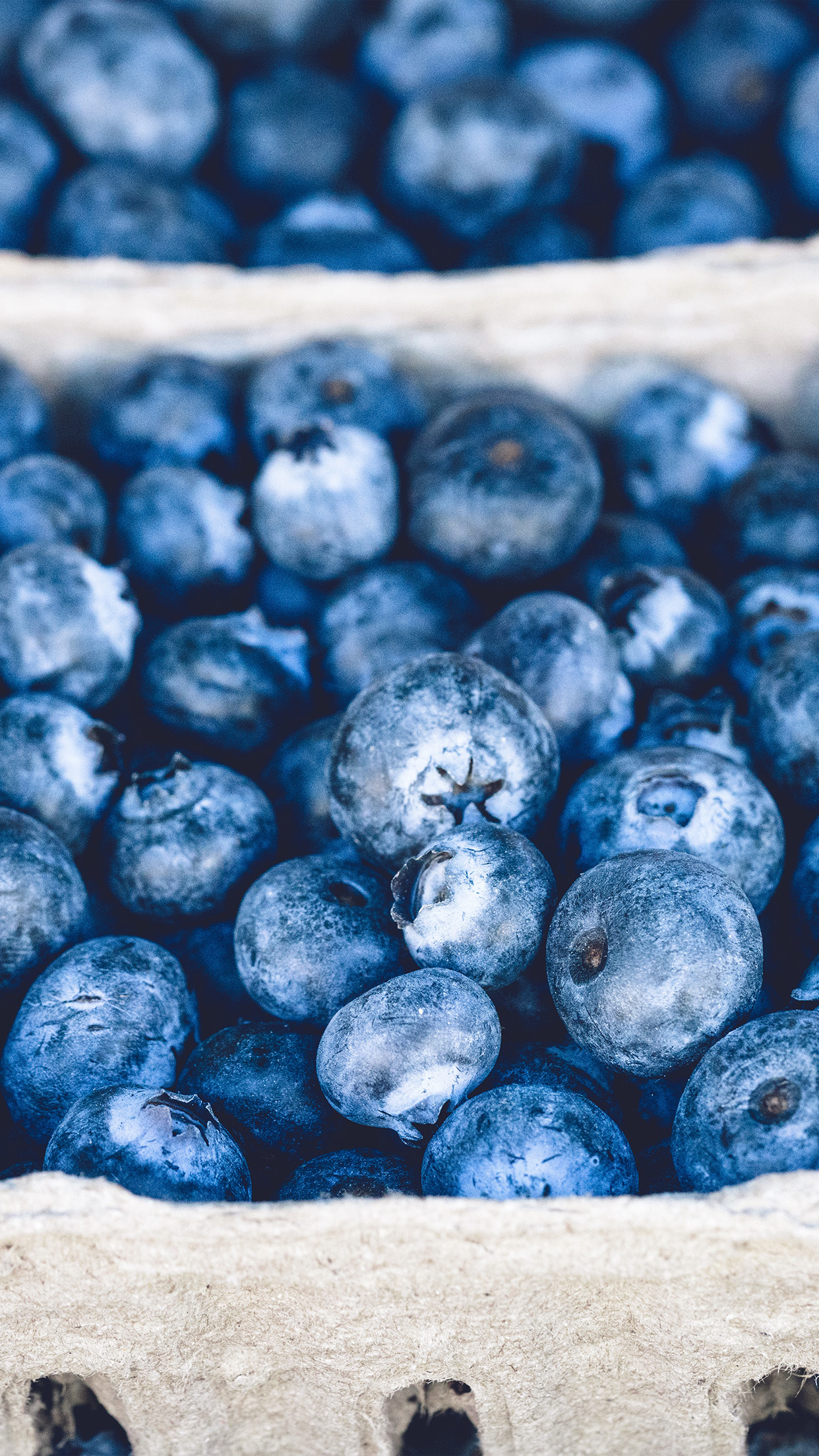 Blueberry Mart Fruit Nature Eat Food Android wallpaper