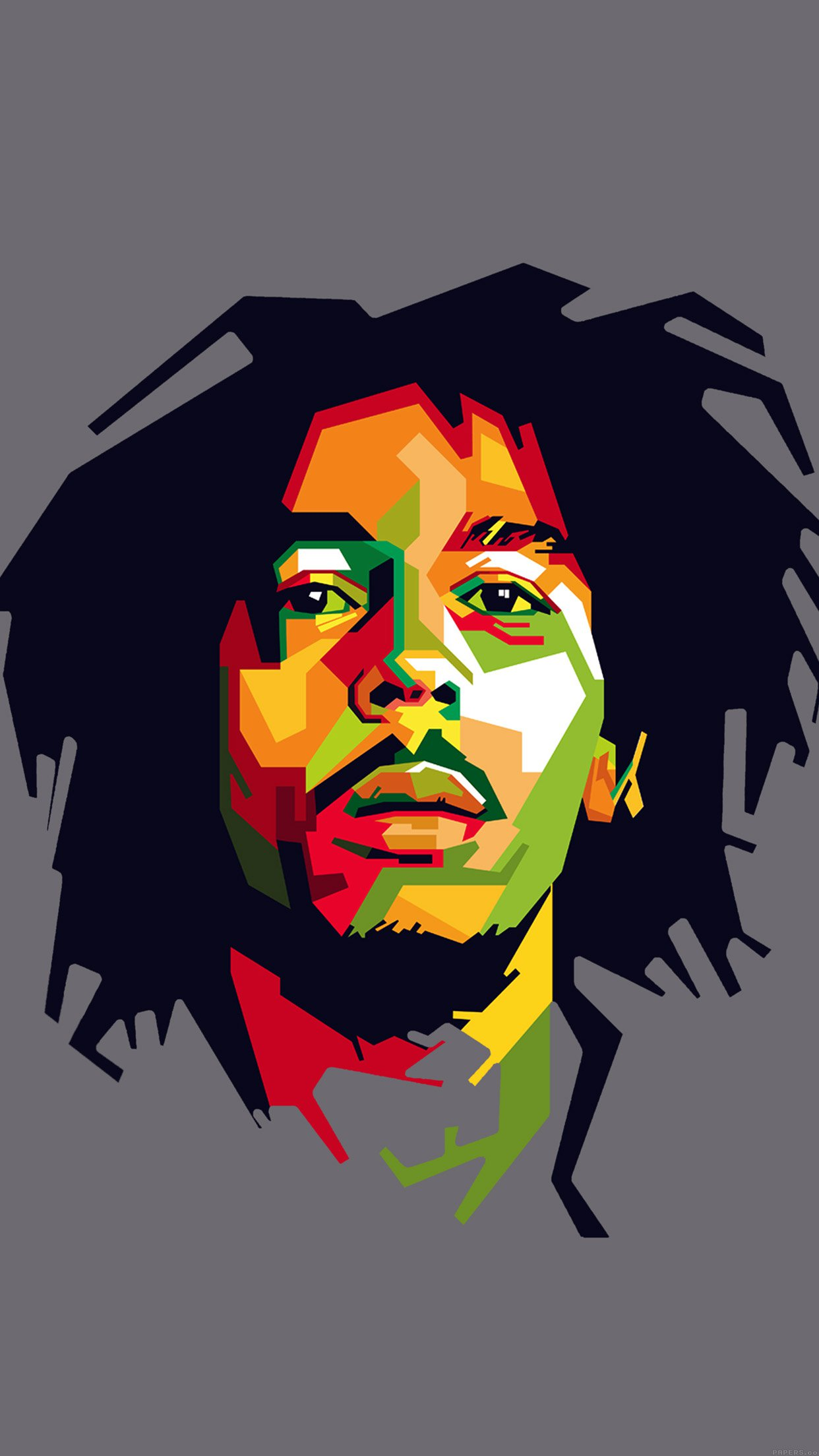 Bob Marley Art Illust Music Reggae Celebrity Android wallpaper - Android HD wallpapers