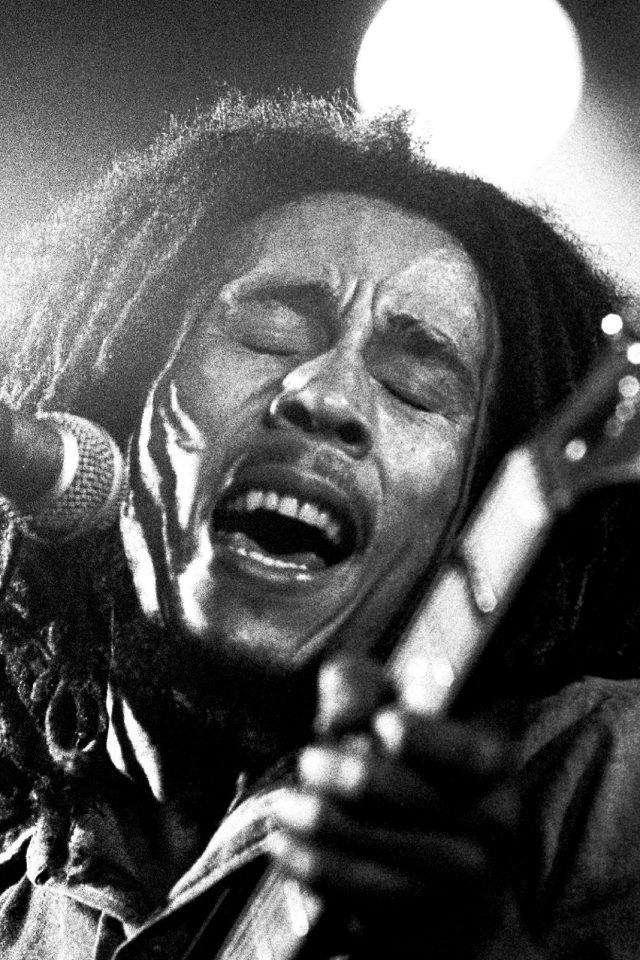 Bob Marley Dark Art Illust Music Reggae Celebrity Android wallpaper