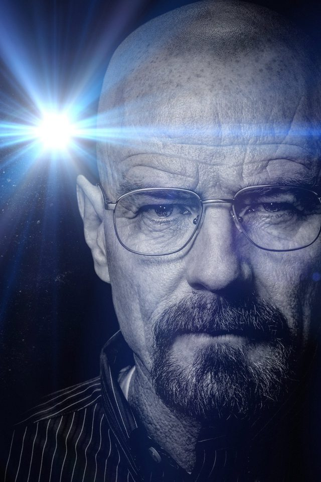 Breaking Bad Face Flare Film Art Dark Android wallpaper