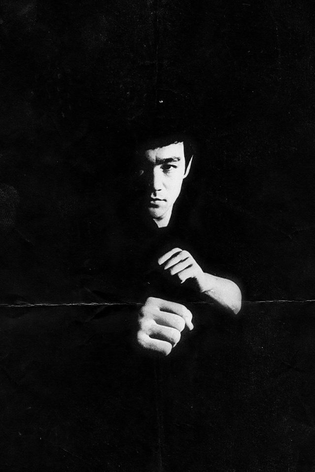Bruce Lee Film Face Android wallpaper