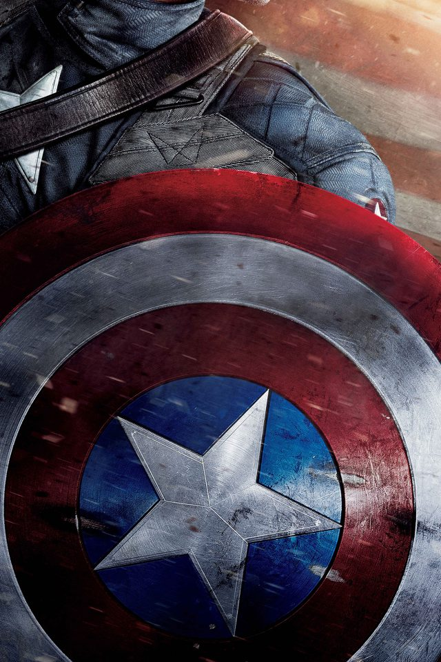 Captain America Poster Film Hero Art Android wallpaper