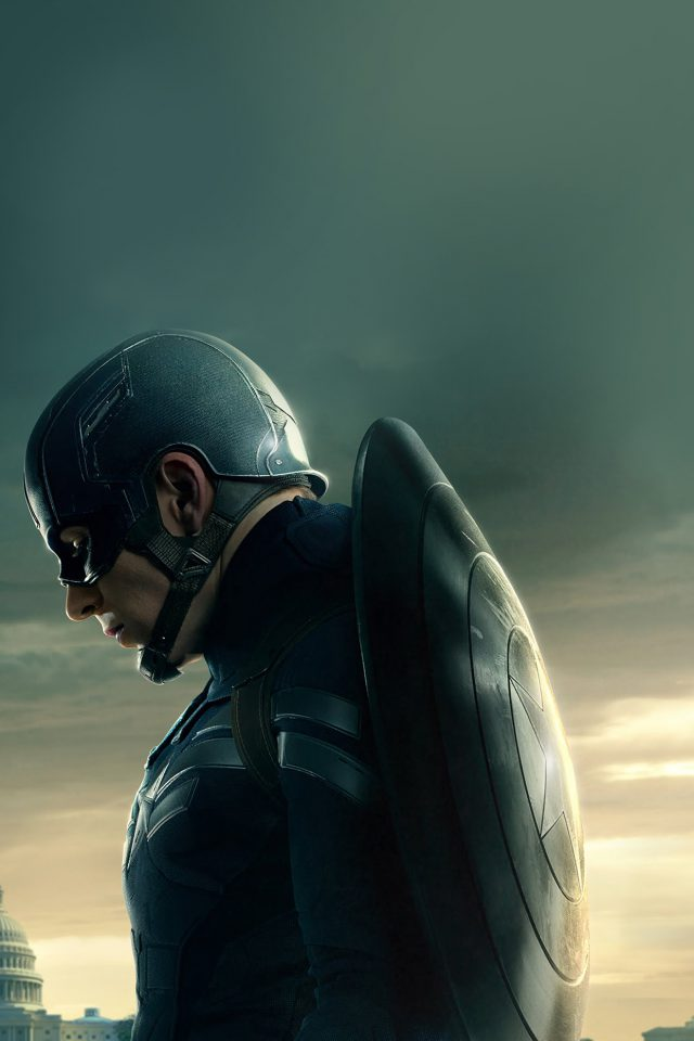 Captain America Sad Hero Film Marvel Android wallpaper