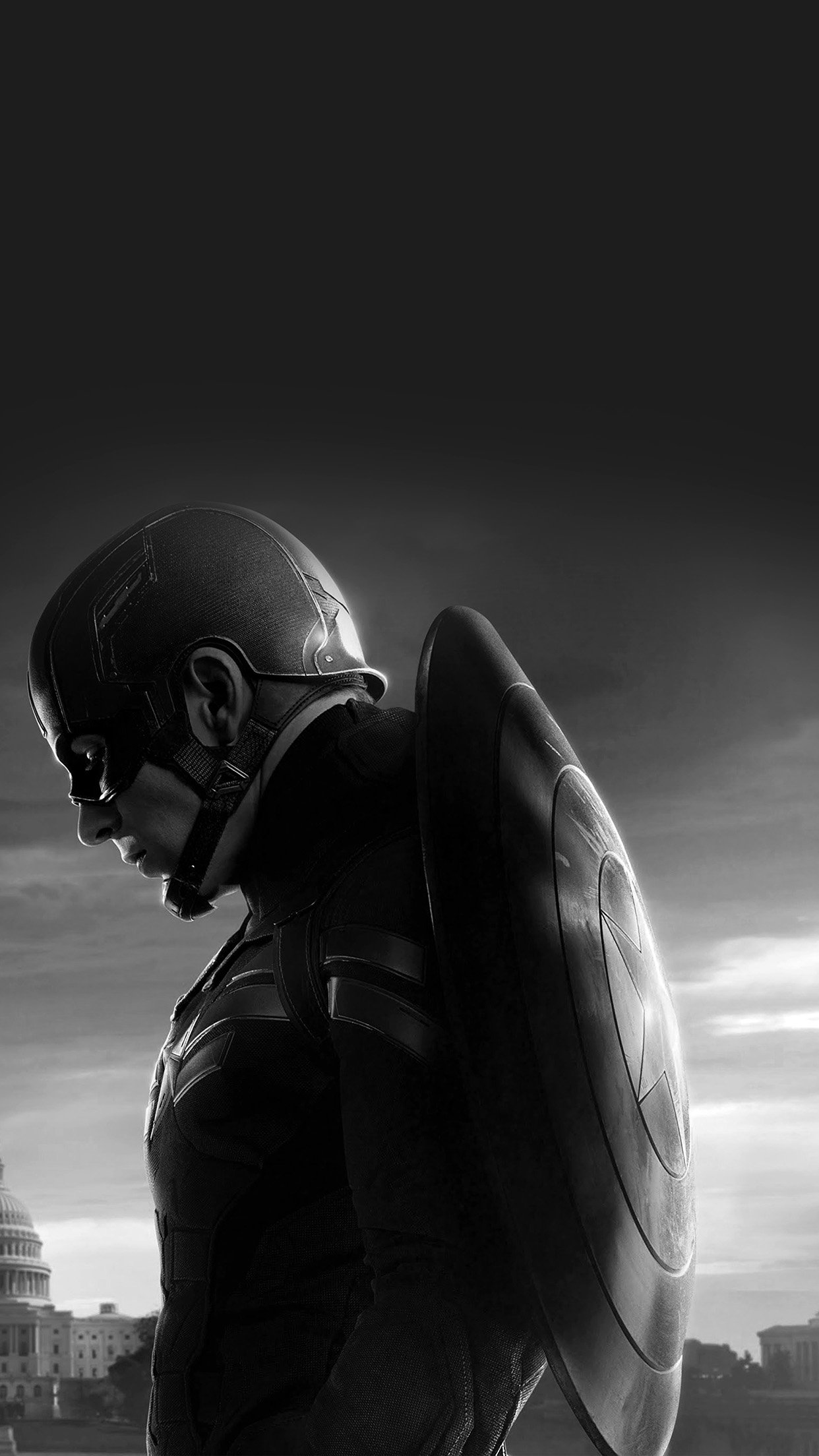 captain america sad hero film marvel dark bw android wallpaper android hd wallpapers