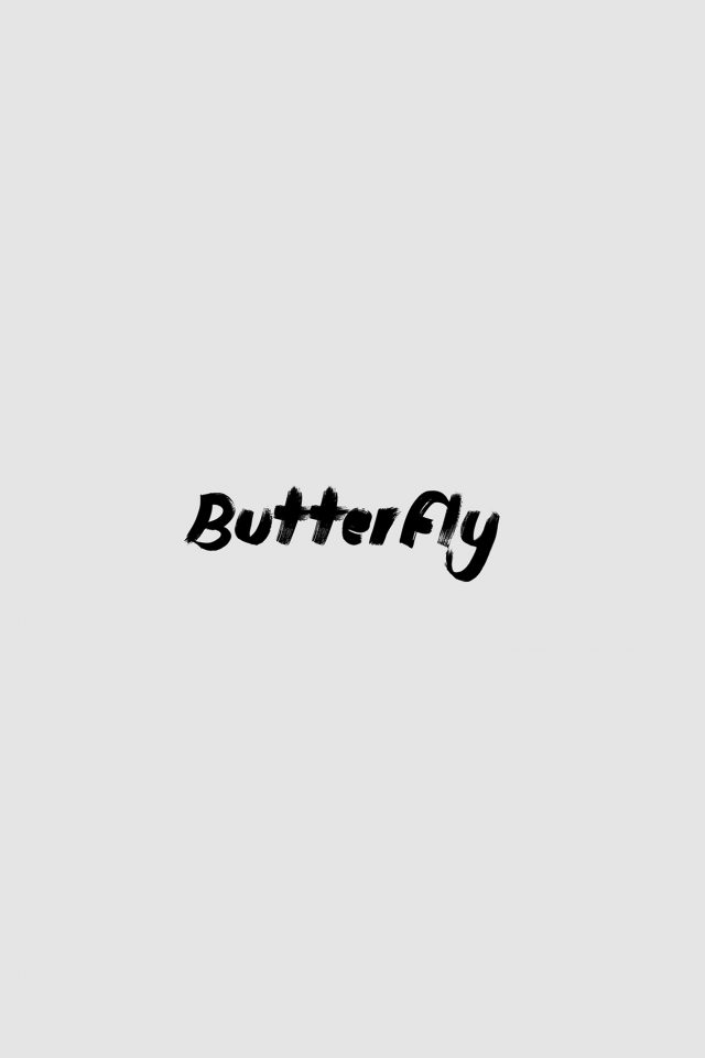 Christina Perri Logo Butterfly Music White Android wallpaper