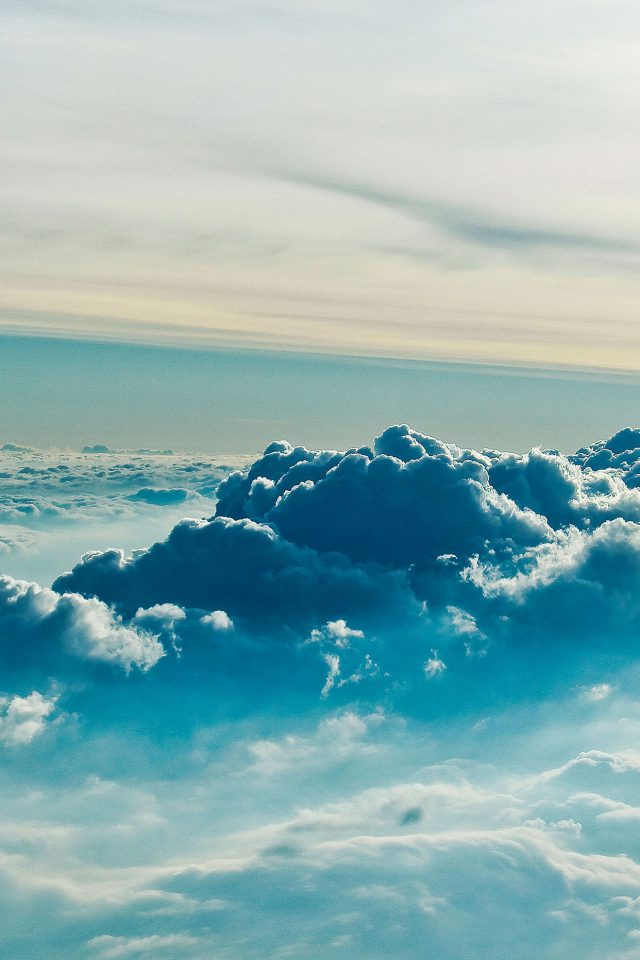 Cloud Above 5 Sky Nature Android wallpaper