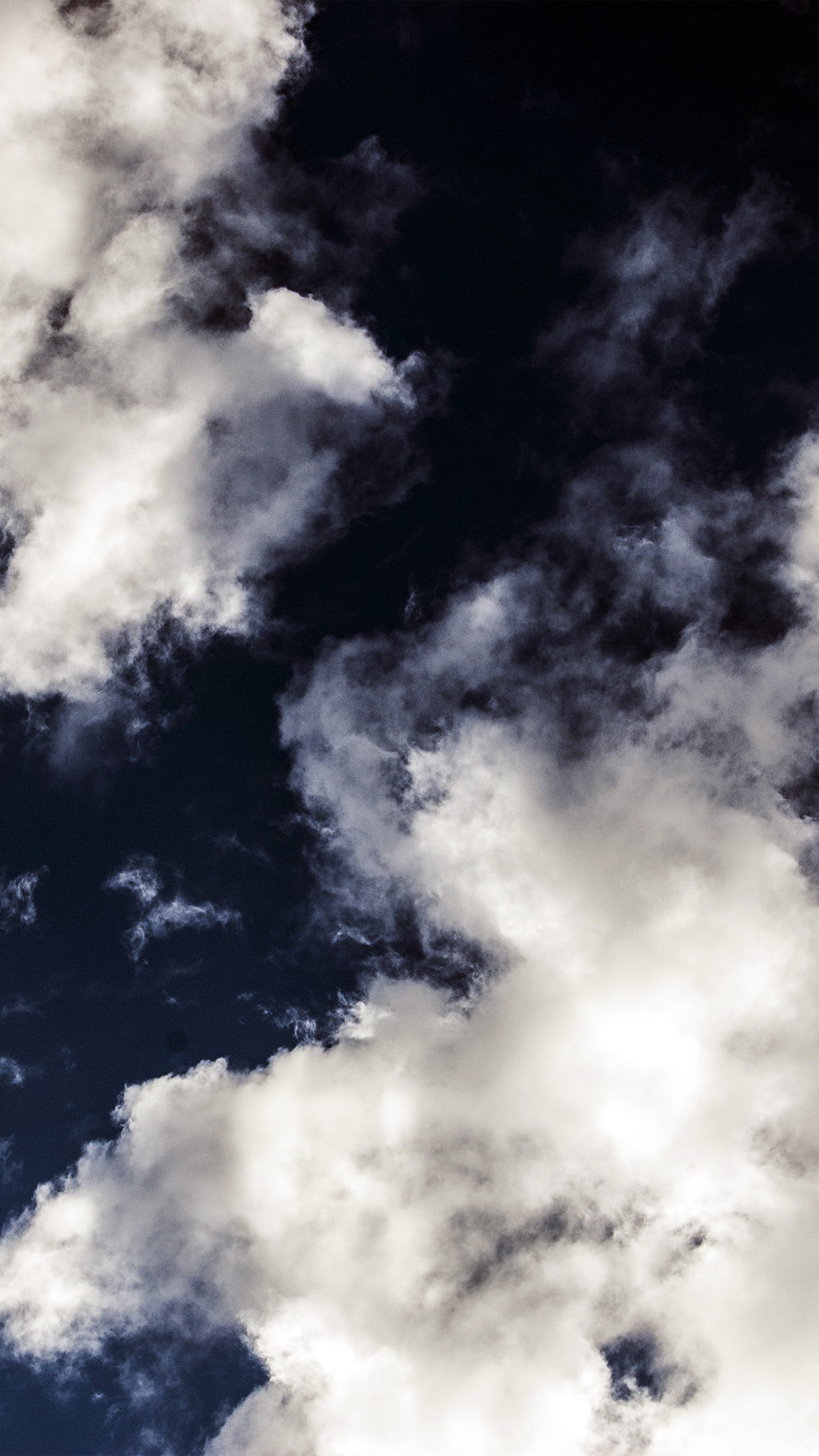 Cloud dark blue sky nature summer android wallpaper - Dark blue wallpaper hd for android ...