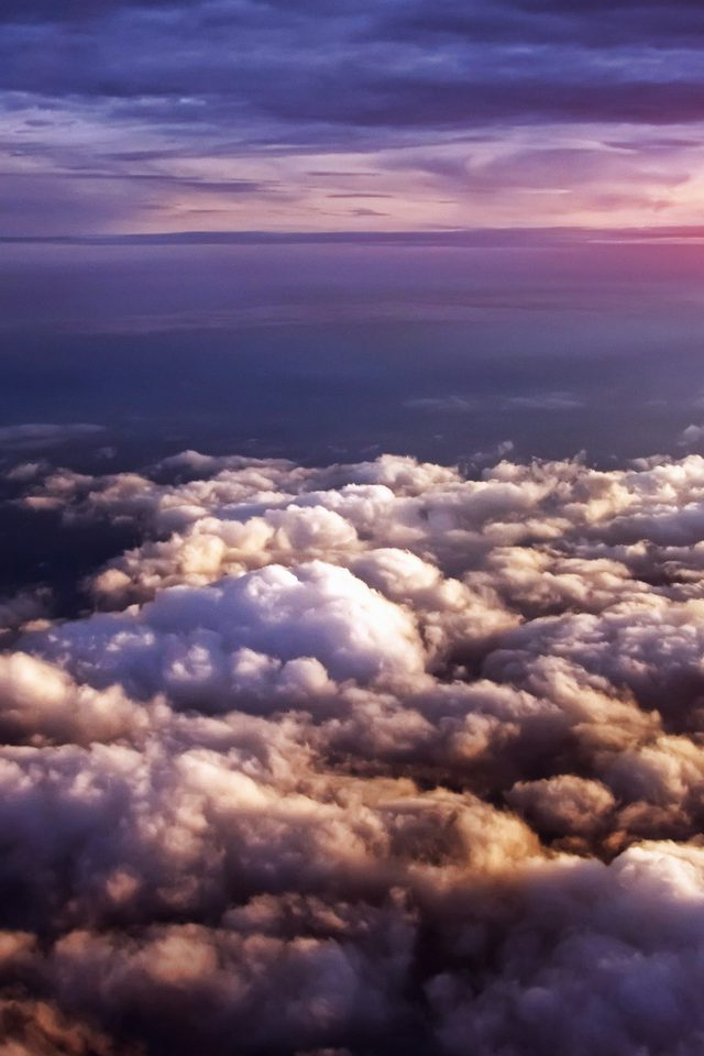 Cloud Flare Sky View Nature Android wallpaper