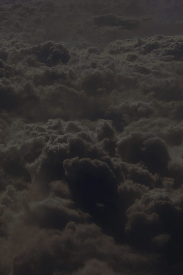 Cloud Sky Dark Nature Fly Android wallpaper