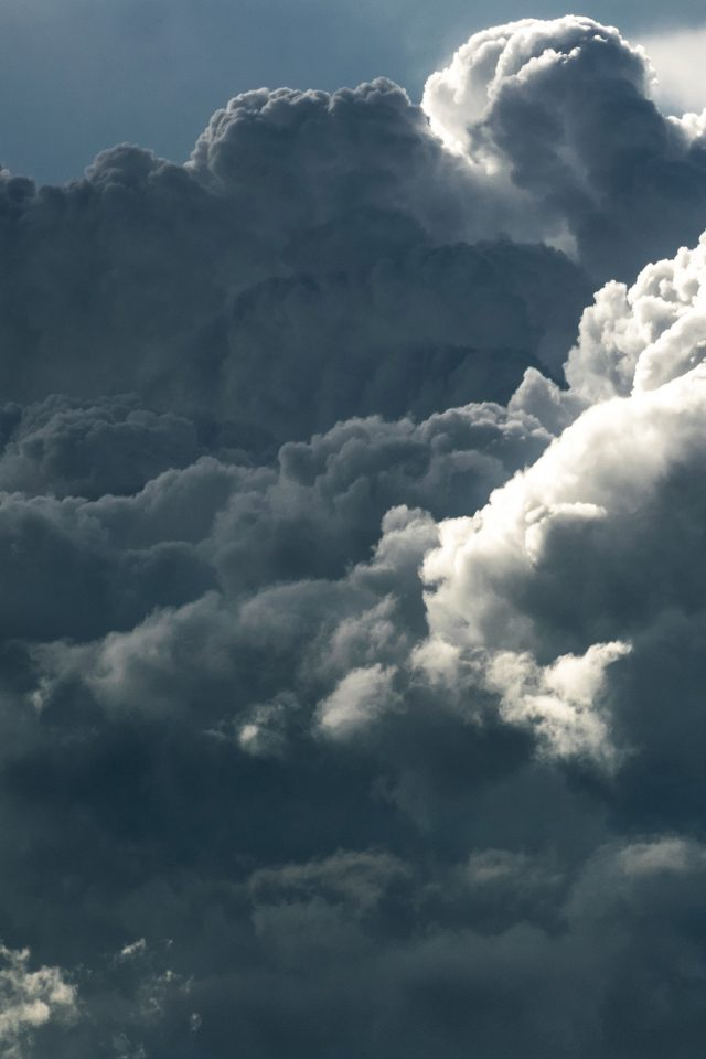 Cloud Sky Pattern Nature Android wallpaper