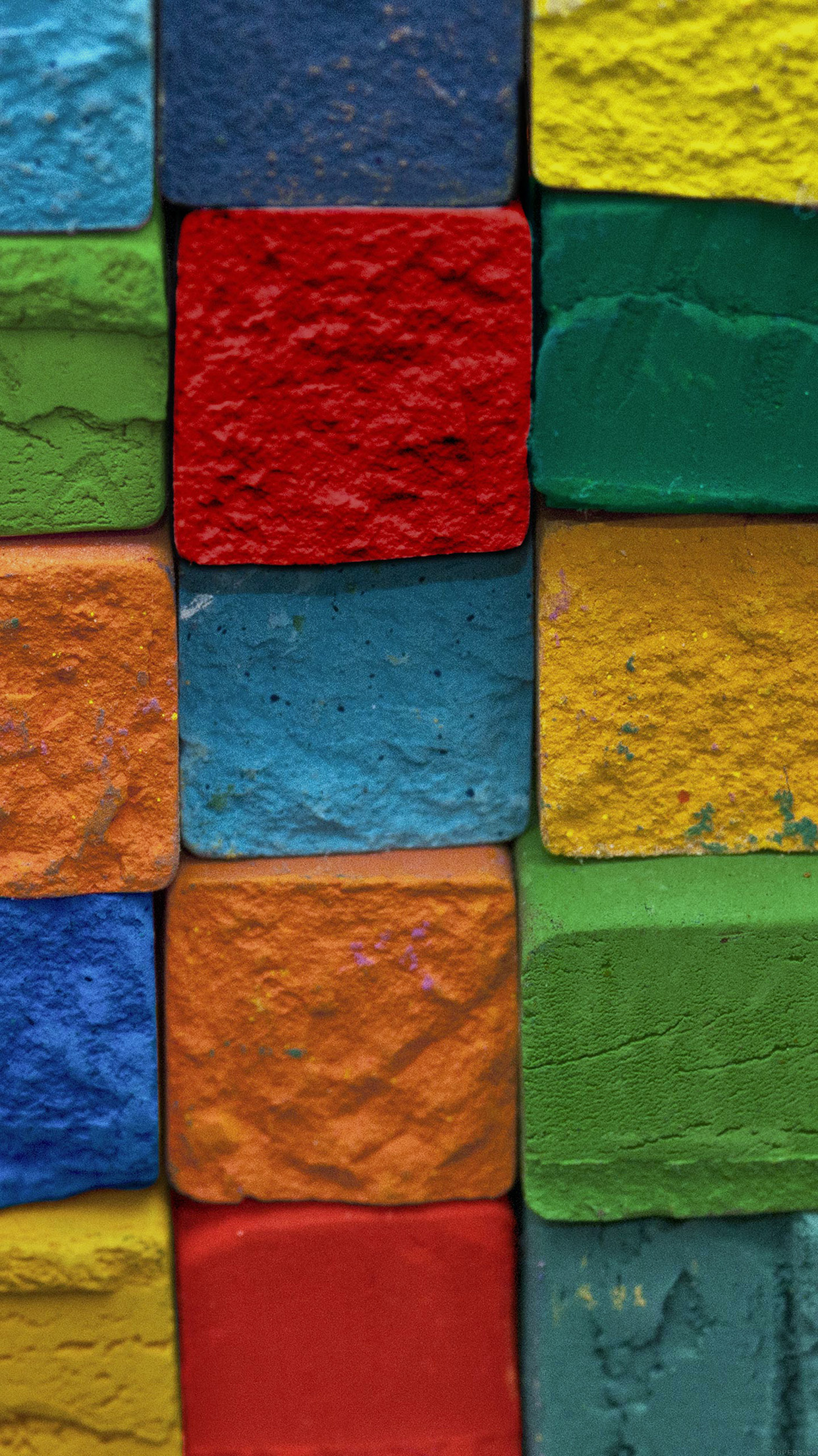 Color Block Art Pattern Android wallpaper