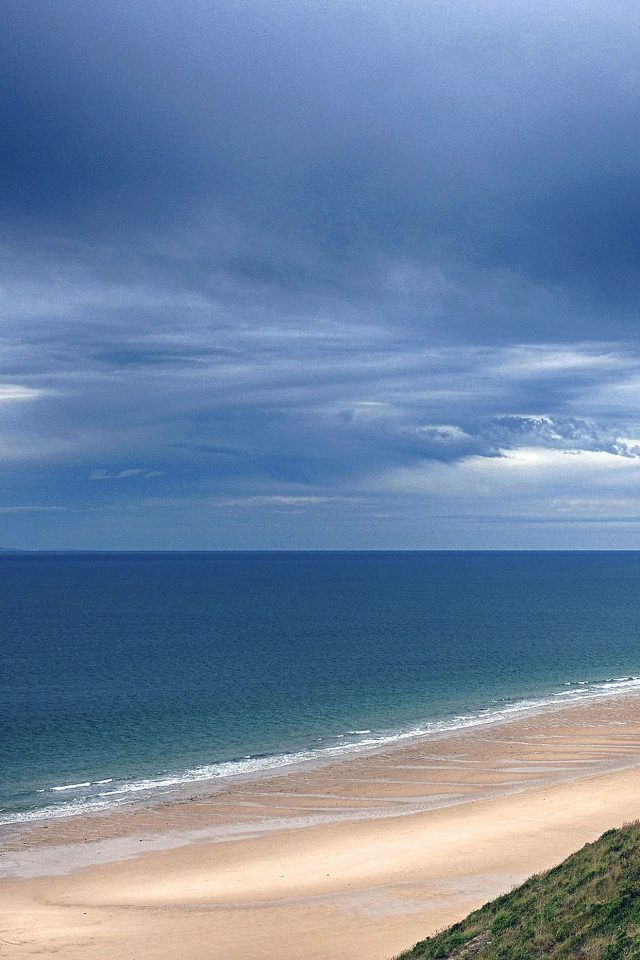 Darksky Blueocean Sea Nature Android wallpaper