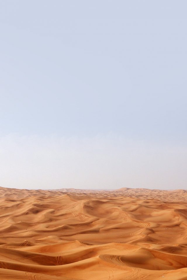 Desert Minimal Nature Sky Earth Android wallpaper
