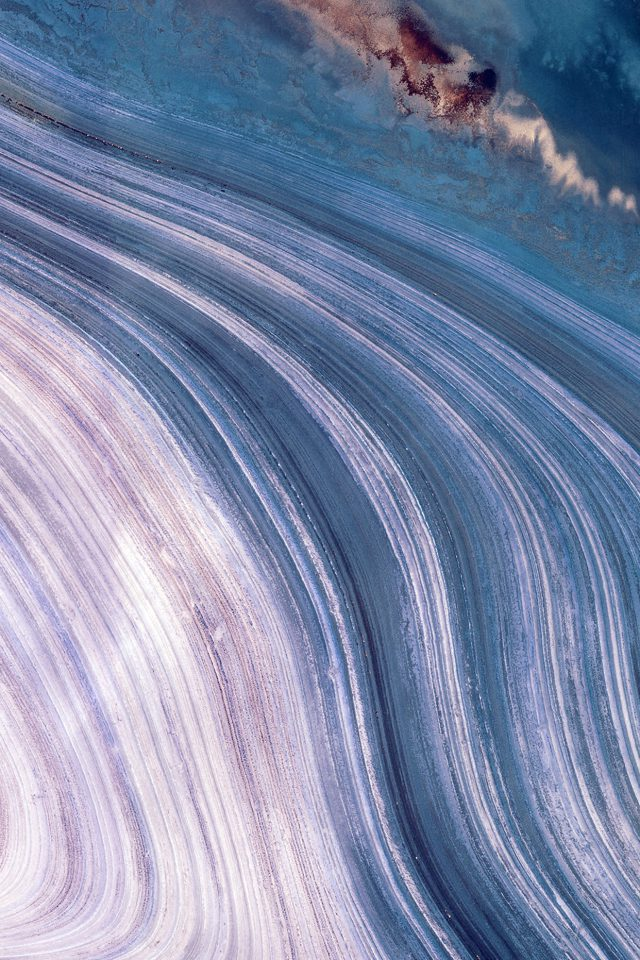 Earthview Land Blue Curve Nature Android wallpaper