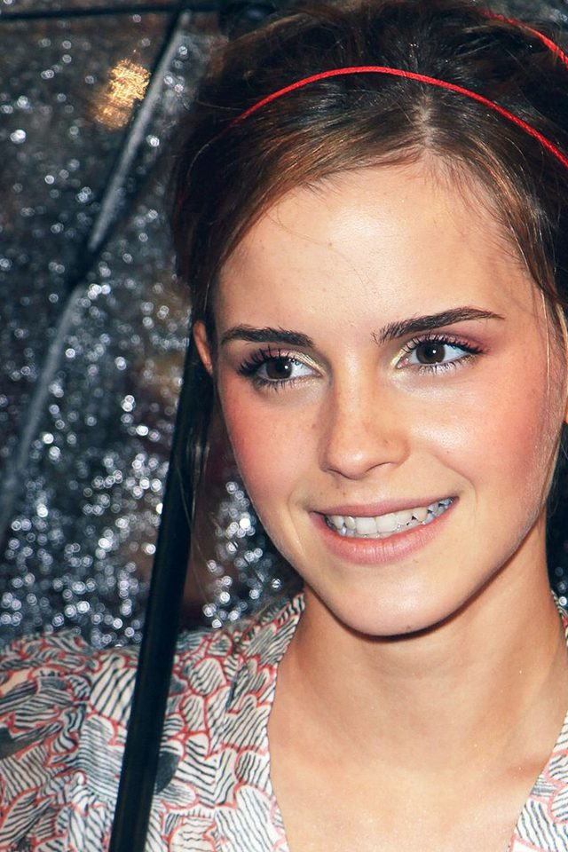 Emma Watson Goddess Girl Film Face Android wallpaper