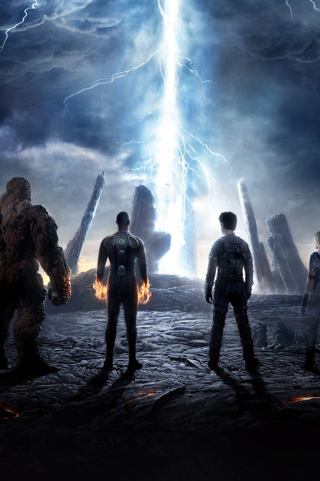 Fantastic Four Movie Poster Action Film Android wallpaper