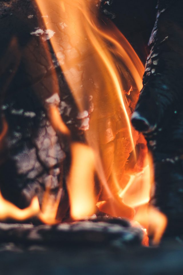 Fire Camp Thomas Lefebvre Nature Android wallpaper