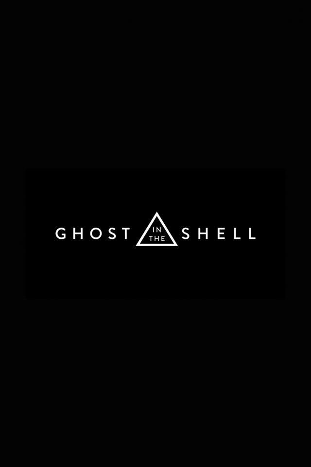 Ghost In The Shell Dark Logo Film Illustration Art Android wallpaper