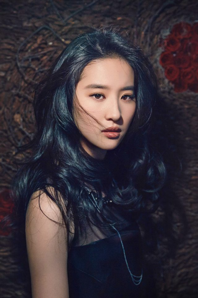Girl Liu Yifei China Film Actress Model Singer Dark Android wallpaper