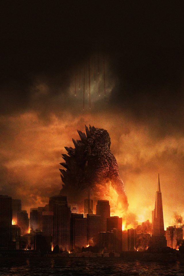 Godzilla Poster Film Android wallpaper