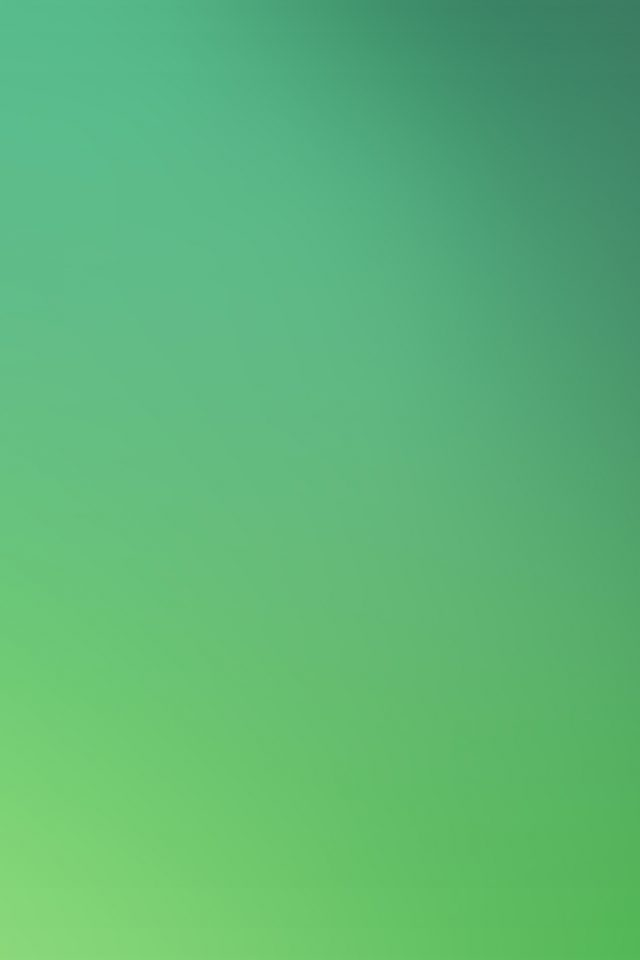 Green Leaf Gradation Blur Android wallpaper