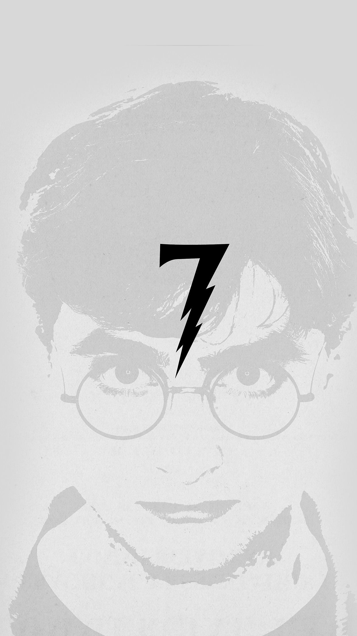 Beautiful Wallpaper Harry Potter Artwork - Harry-Potter-Art-Minimal-Film-Gray  Gallery_569142.jpg