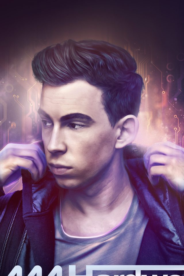Iam Hardwell Electro House Dj Music Android wallpaper