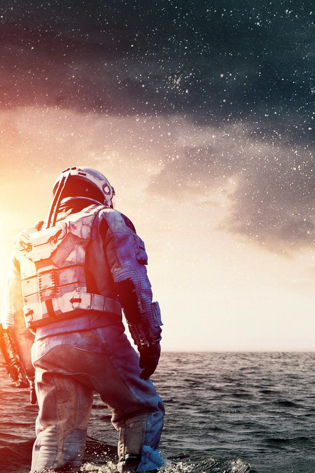 Interstellar Wide Space Film Movie Art Android wallpaper