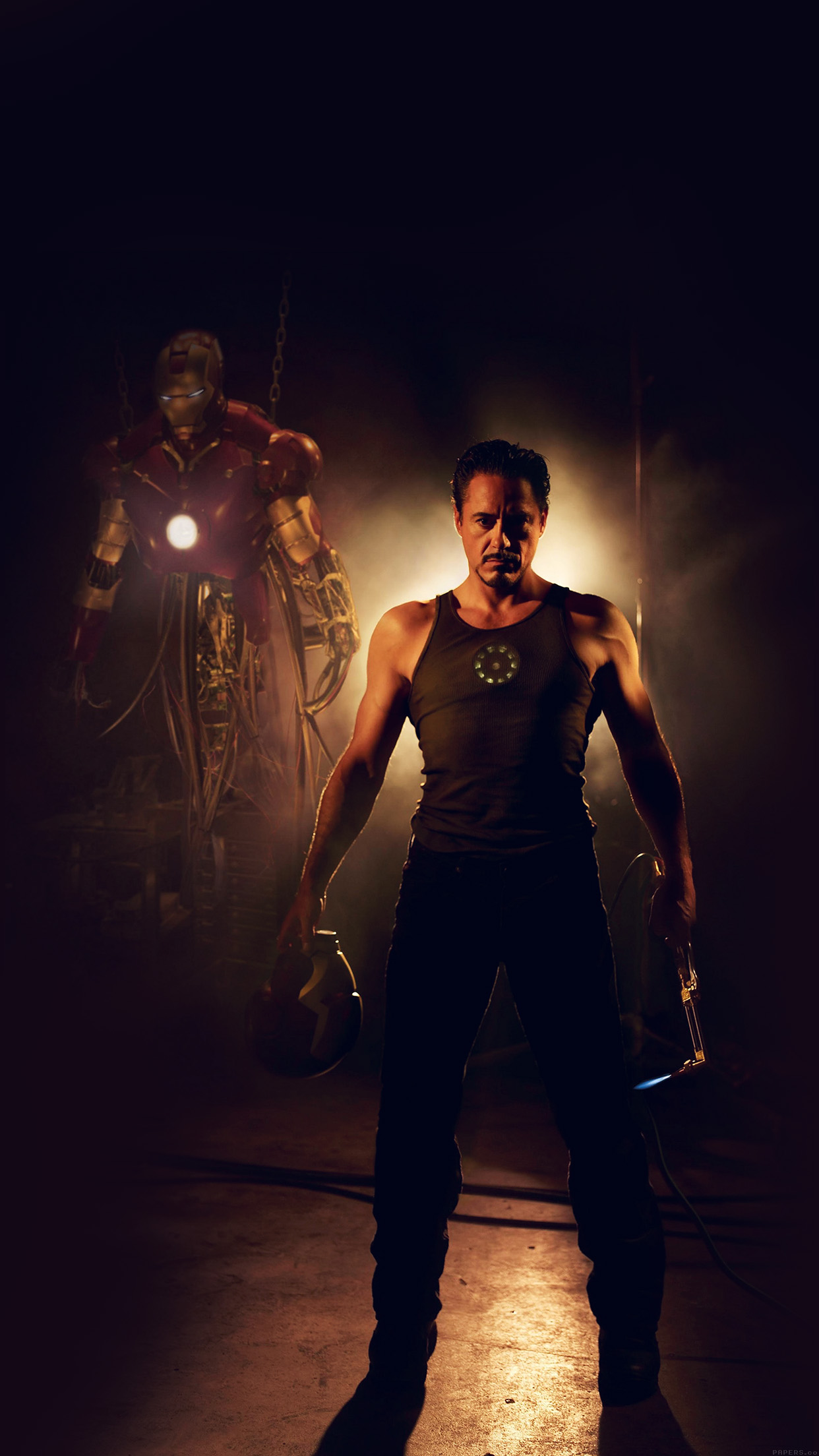 Ironman Avengers Art Robert Downey Jr Film Hero Android Wallpaper Android Hd Wallpapers